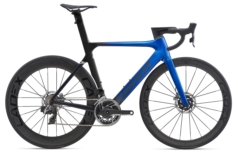 GIANT Propel Advanced SL Disc S Electricblue / Metallicblack Gloss-Matt
