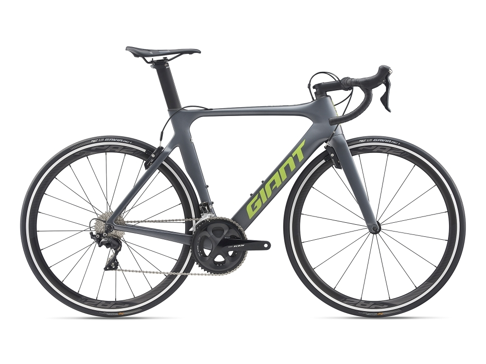 GIANT Propel Advanced 2 M Charcoalgrey / Green Matt-Gloss