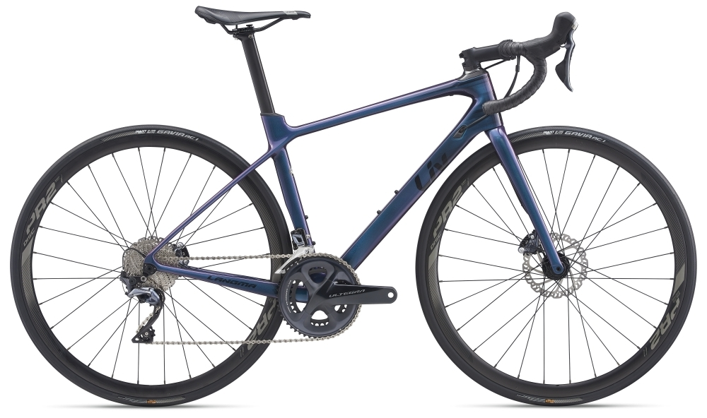 Liv Langma Advanced 1 Disc S Chameleon Blue / Solidblack