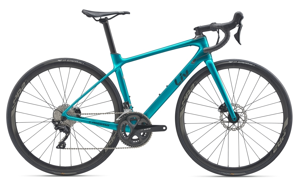 Liv Langma Advanced 2 Disc S Jade Teal / Solidblack