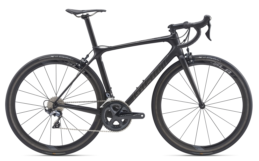 GIANT TCR Advanced Pro ML Carbon Smoke Matt