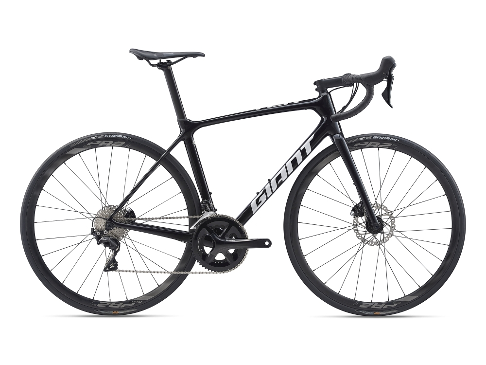 GIANT TCR Advanced 2 Disc L Metallicblack / Pearlwhite