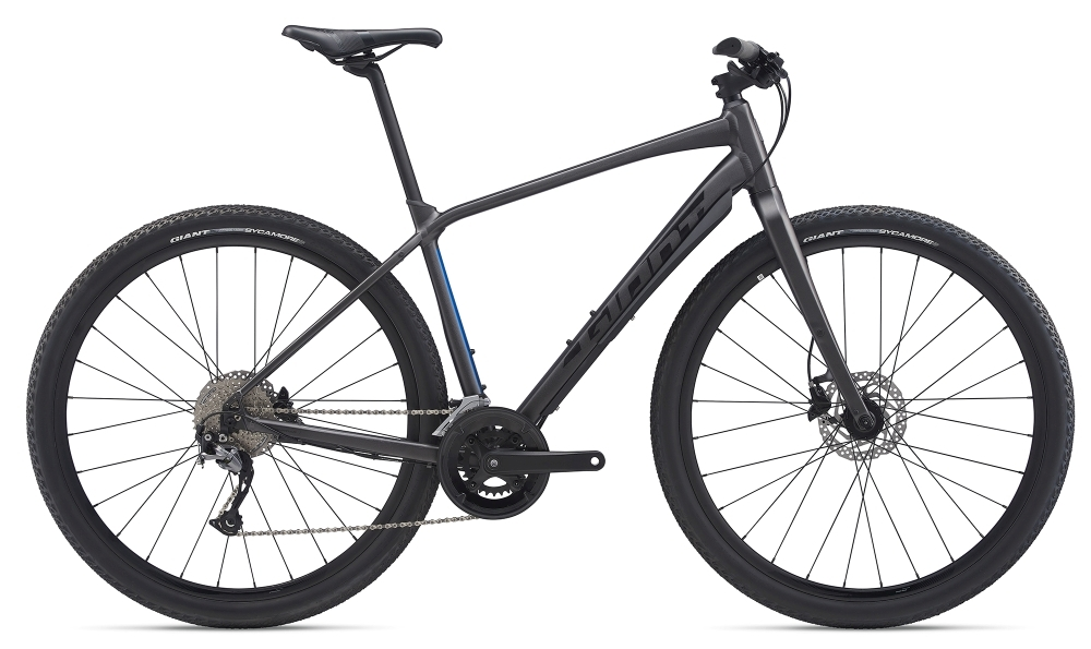 GIANT ToughRoad SLR 2 XL Metallicblack / Metallicblue Matt