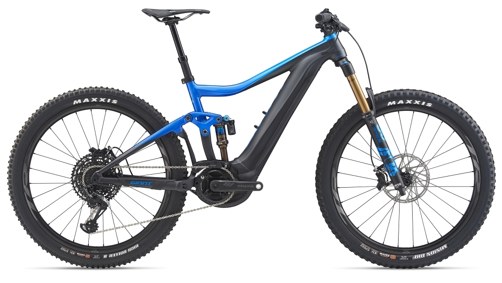 GIANT Trance E+ 0 Pro M Metallicblue / Coreblack Gloss-Matt