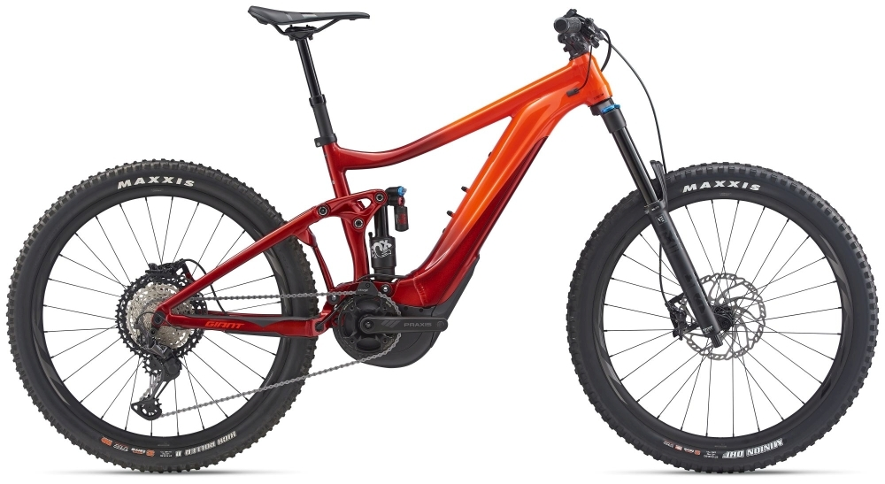 GIANT Reign E+ 1 (2020) M neon red / metallic red