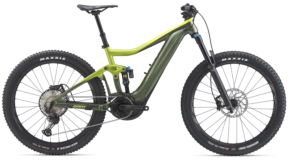 GIANT Trance E+ 1 Pro PWR6 XL Acidyellow / Armygreen