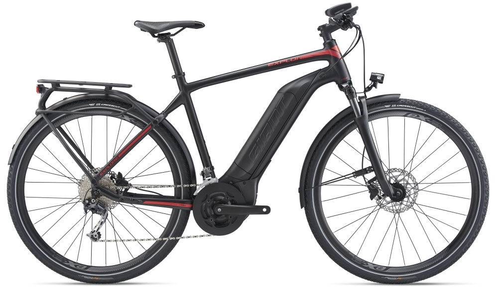 GIANT Explore E+ 2 GTS L Black / Red Matt