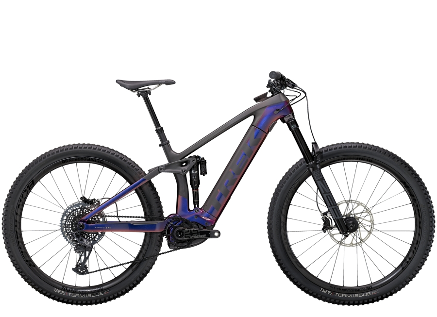 Trek Rail 9.9 M Gloss Purple Phaze/Matte Raw Carbon