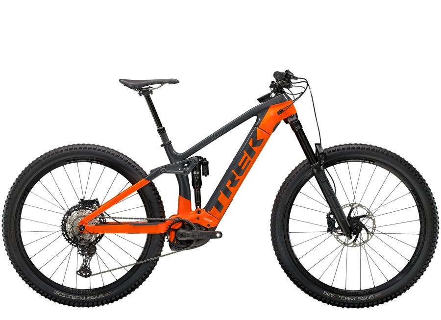 Trek Rail 9.8 XT S Solid Charcoal/Radioactive Orange