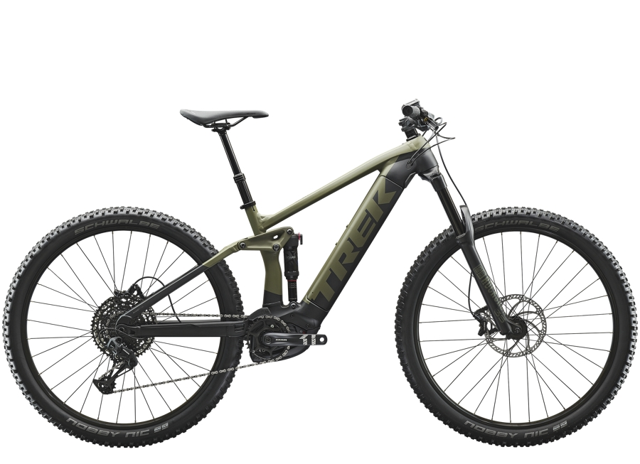 Trek Rail 5 625Wh M Matte Olive Grey/Trek Black