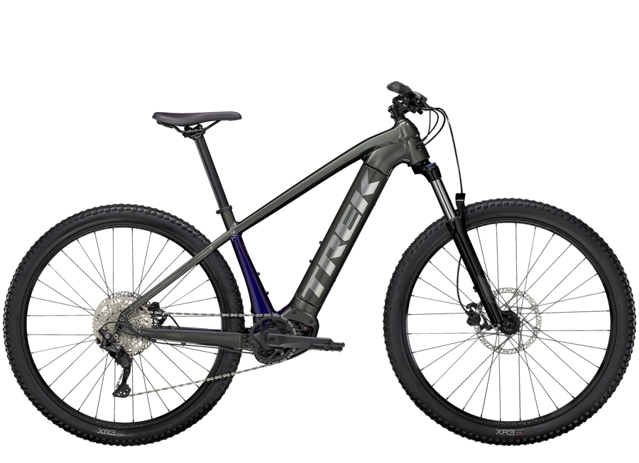 Trek Powerfly 4 625 XL (29  wheel) Lithium Grey/Purple Abyss