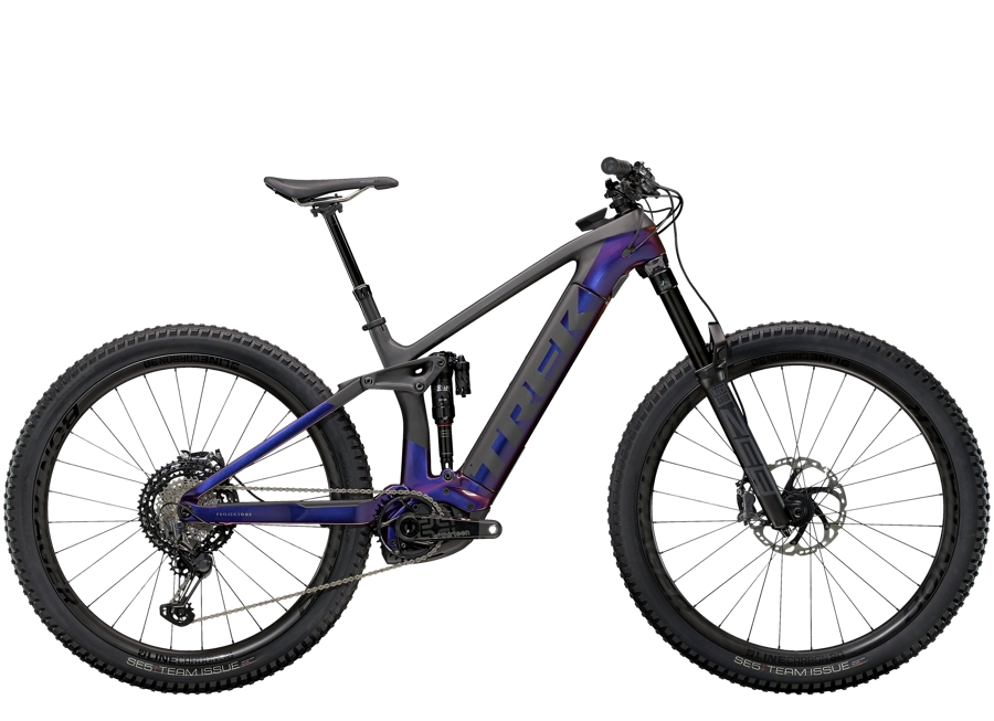 Trek Rail 9.9 XTR M Gloss Purple Phaze/Matte Raw Carbon