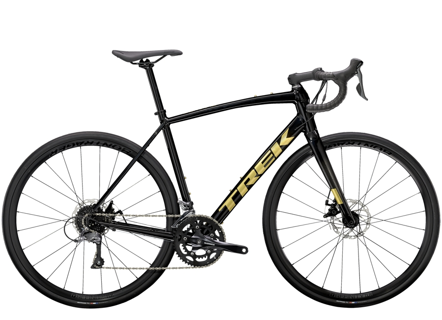 Trek Domane AL 2 Disc 61 Trek Black/Carbon Smoke