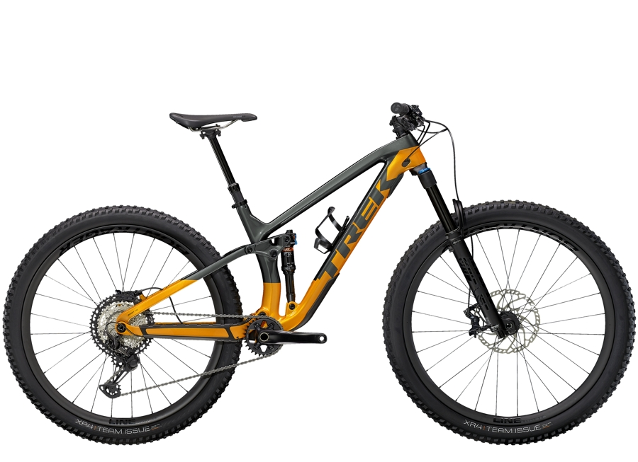 Trek Fuel EX 9.8 XT L (29  wheel) Lithium Grey/Factory Orange