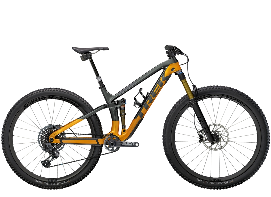 Trek Fuel EX 9.9 X01 AXS S (29  wheel) Lithium Grey/Factory Orange